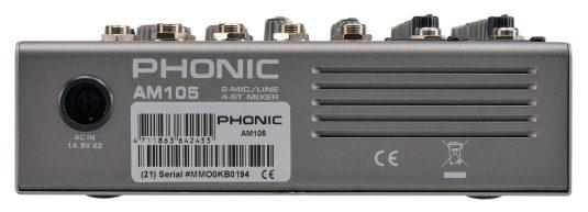 Phonic AM 105 mikser audio