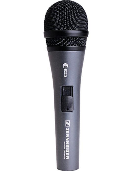 Sennheiser e822S mikrofon wokalowy z wyłącznikiem