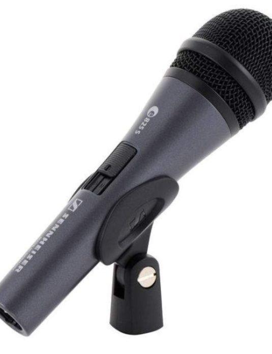 Sennheiser e825 S mikrofon wokalowy z wyłącznikiem