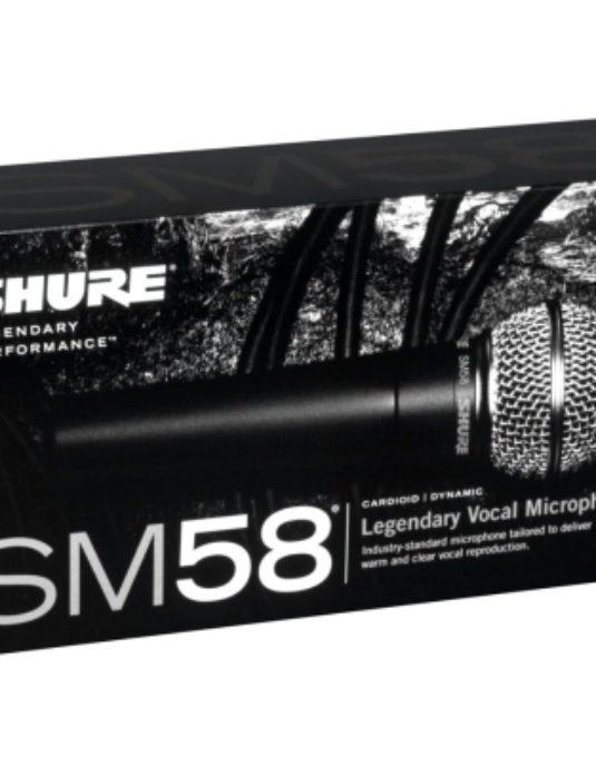 Shure SM58 LCE mikrofon wokalowy