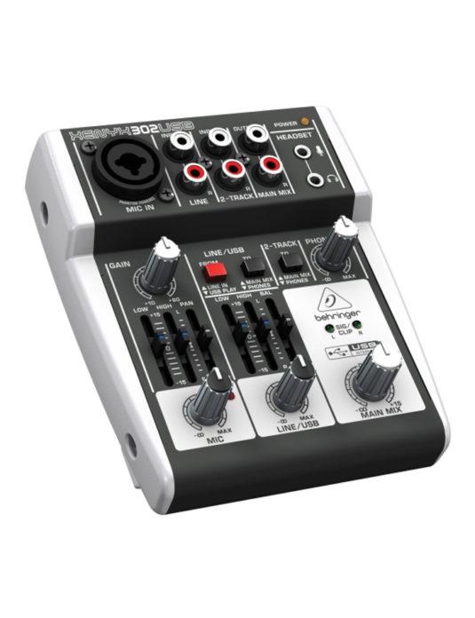 Behringer XENYX 302 USB mikser audio