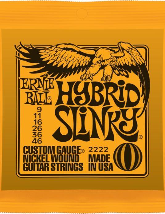 Ernie Ball Hybrid Slinky 9-46 struny do gitary elektrycznej