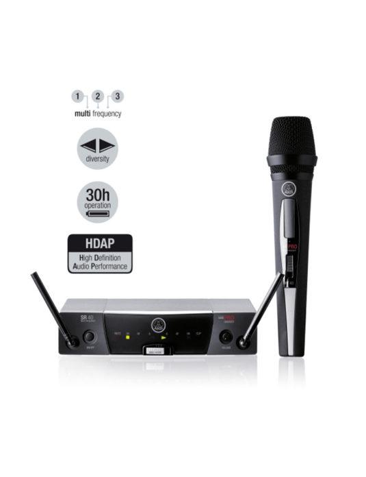 AKG WMS 45 Pro Vocal Set mikrofon bezprzewodowy