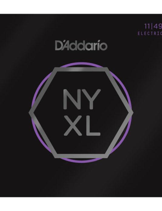 D'Addario NYXL 11-49 Struny do gitary elektrycznej