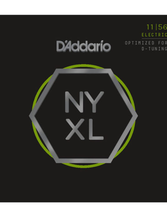 D'Addario NYXL 11-56 Struny do gitary elektrycznej