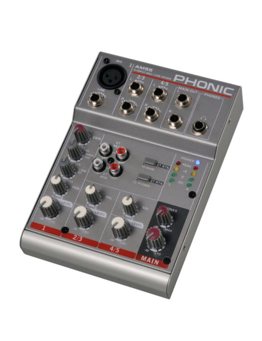 Phonic AM 55 mikser audio