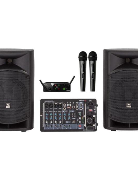 Proel FreePass 8 + AKG WMS 40 Mini2 Dual Vocal Set - zestaw konferencyjny