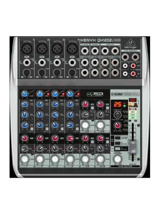 Behringer XENYX Q1202 USB mikser audio