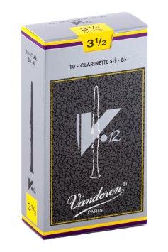 Stroik do klarnetu V12 Vandoren 3,5 Sib-Bb