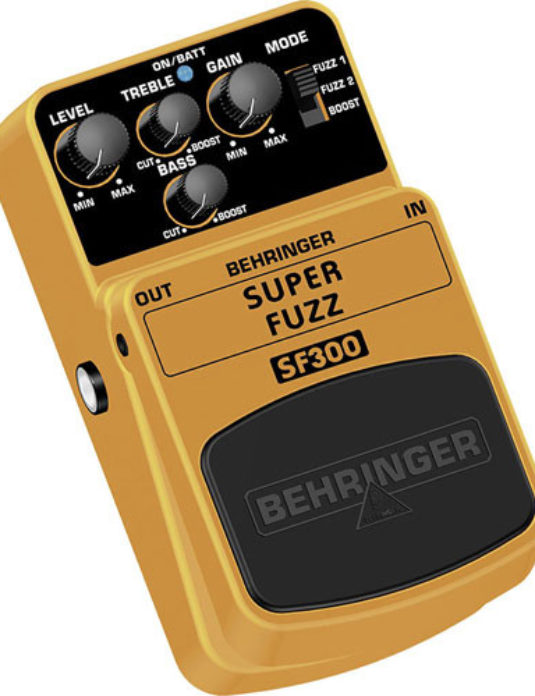 Behringer SF300 Super Fuzz efekt gitarowy