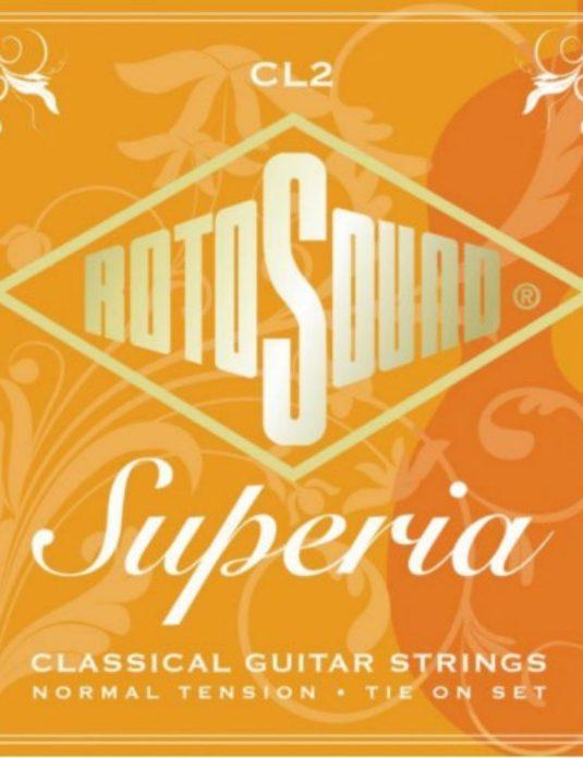 """RotoSound Superia CL2 .28""""-.45"""" Struny do gitary klasycznej"""
