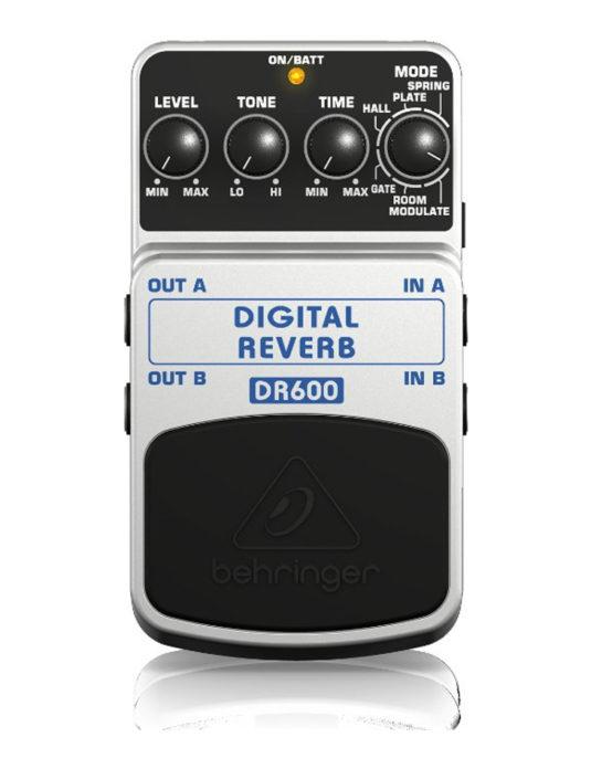 Behringer DR600 Digital Reverb efekt gitarowy