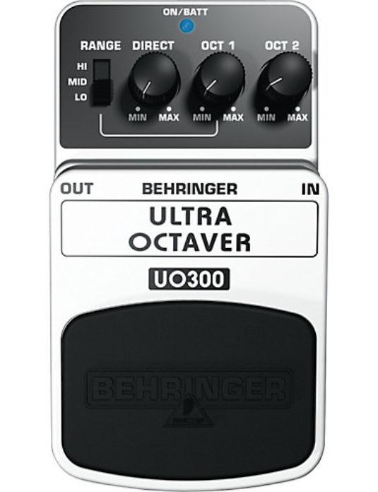 Behringer UO300 Ultra Octaver efekt gitarowy