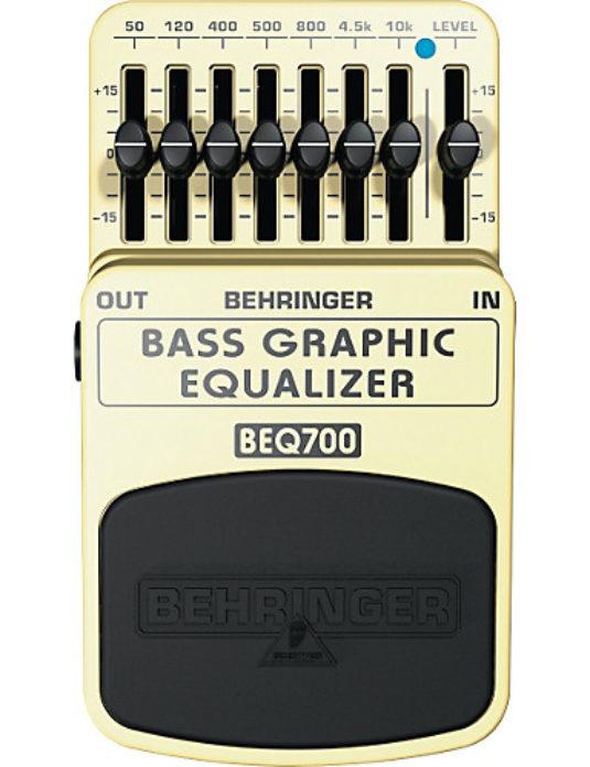 Behringer BEQ700 Bass Graphic Equalizer efekt gitarowy