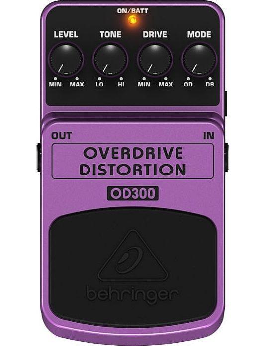 Behringer OD300 Overdrive Distortion efekt gitarowy