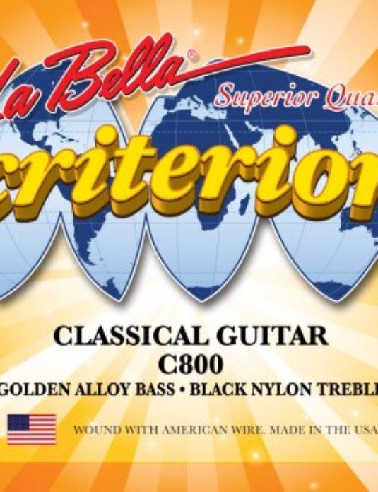 La Bella C800 Criterion Struny do gitary klasycznej