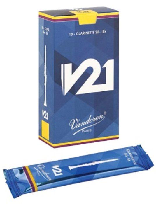 Stroik do klarnetu V21 Vandoren 3,5+ Sib-Bb