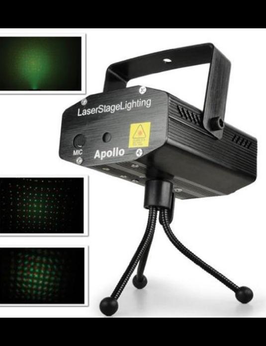 BeamZ Apollo laser multipoint  zielony/czerwony 170mW