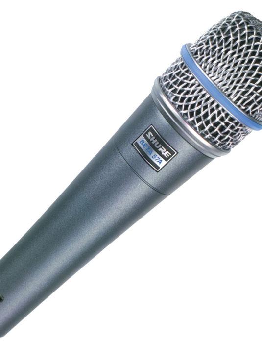 Shure Beta 57A mikrofon instrumentalny