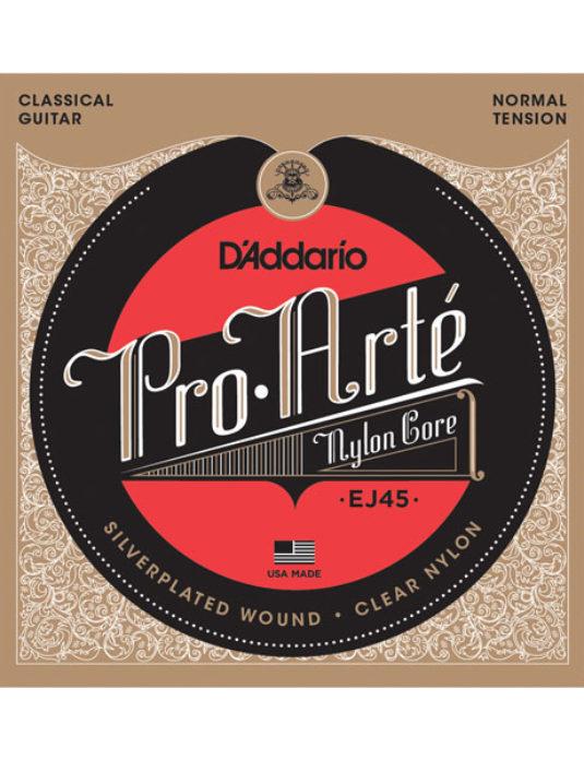 """D'Addario EJ45 .28""""-.43"""" Struny do gitary klasycznej"""