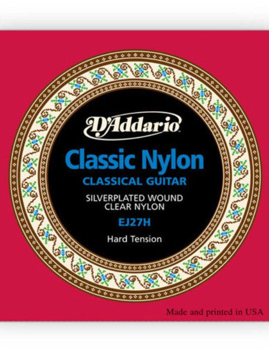 """D'Addario EJ27H Hard Tension .29""""-.44"""" Struny do gitary klasycznej"""