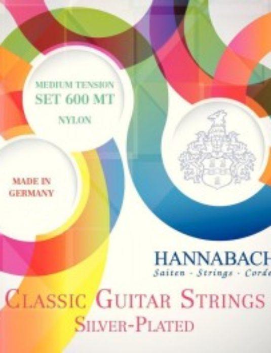 Hannabach 600MT Struny do gitary klasycznej