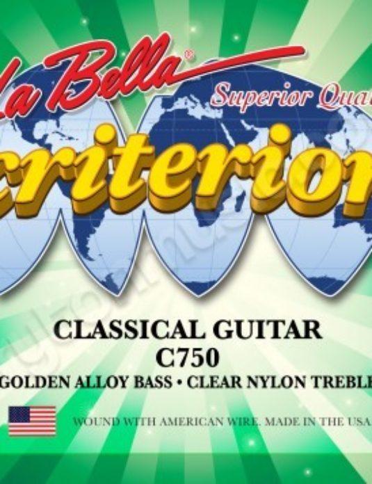 La Bella C750 Criterion Struny do gitary klasycznej