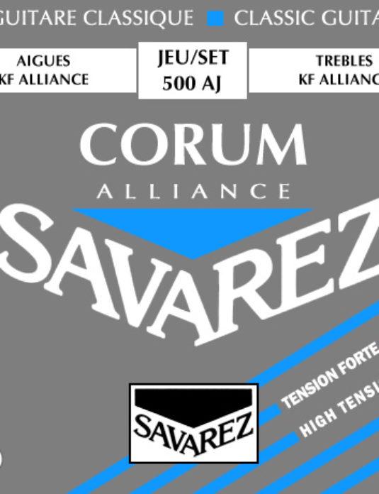 Savarez 500 AJ Corum Struny do gitary klasycznej