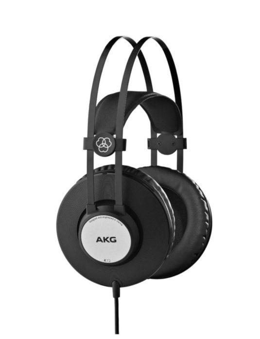 AKG K72 zamknięte słuchawki studyjne