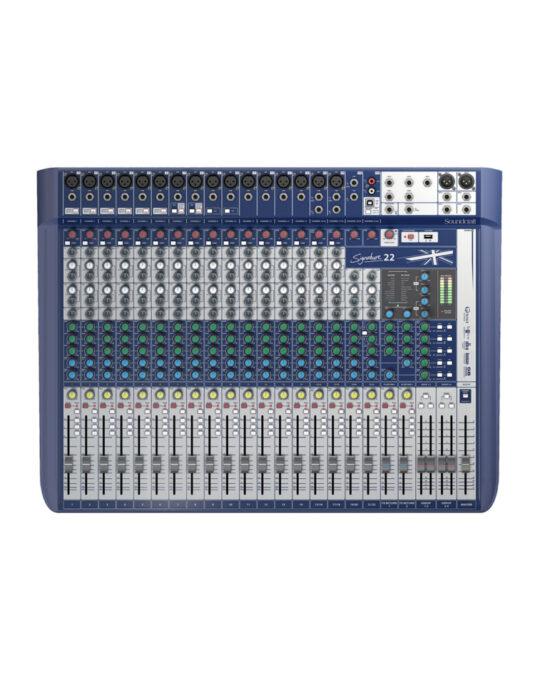 Soundcraft Signature 22 mikser audio