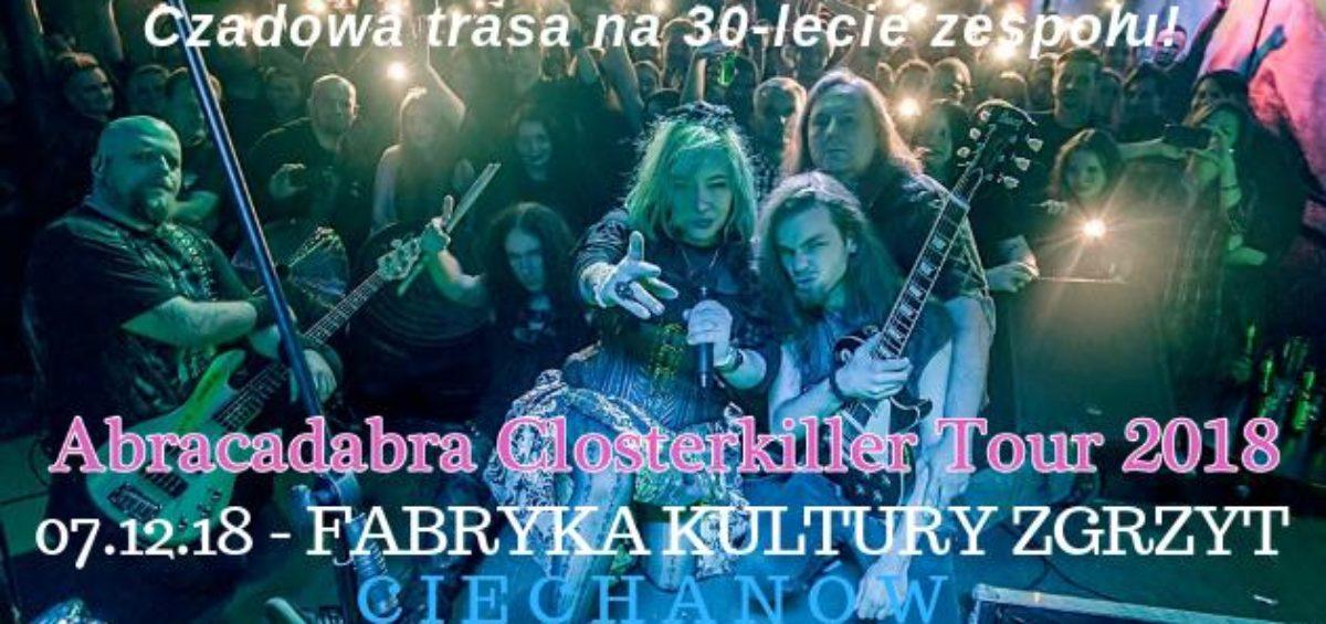 Abracadabra Clasterkiller Tour 2018
