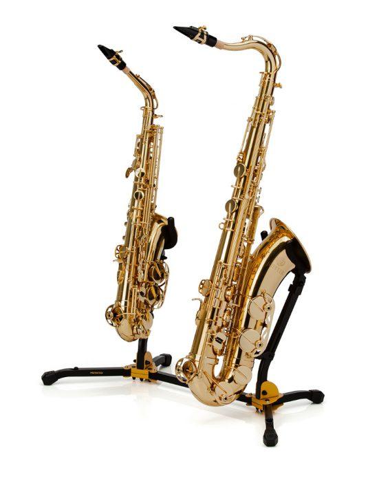 Hercules DS537B statyw na dwa saksofony alt/tenor