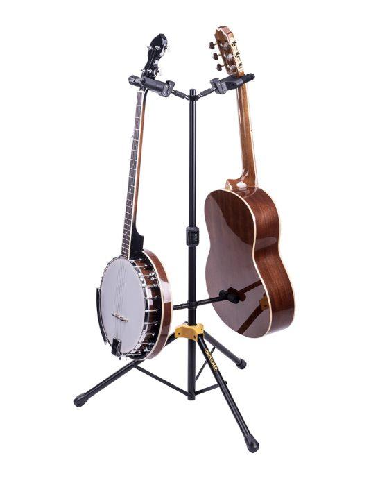 Hercules GS422B PLUS statyw na dwie gitary