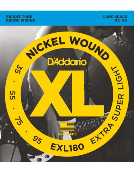 Daddario EXL180 35-95 struny do gitary basowej
