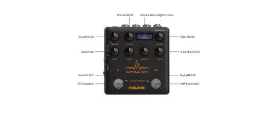 NUX NAI-5 OPTIMA AIR - symulator gitary akustycznej