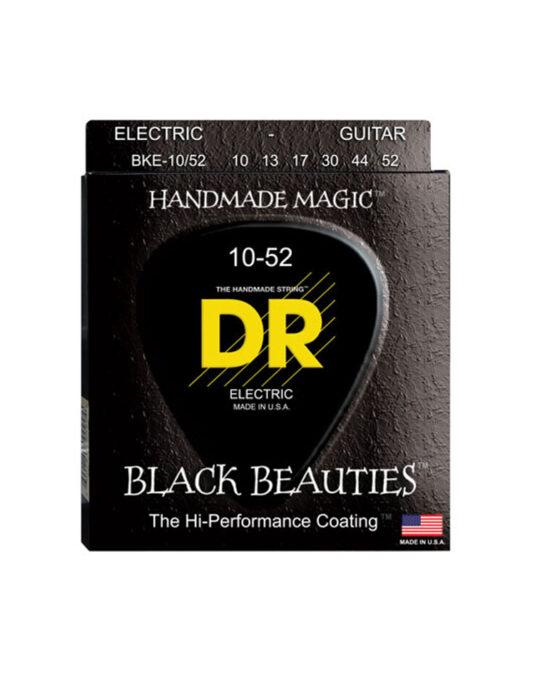 DR BKE 10-52 BLACK BEAUTIES struny do gitary elektrycznej (CZARNE)