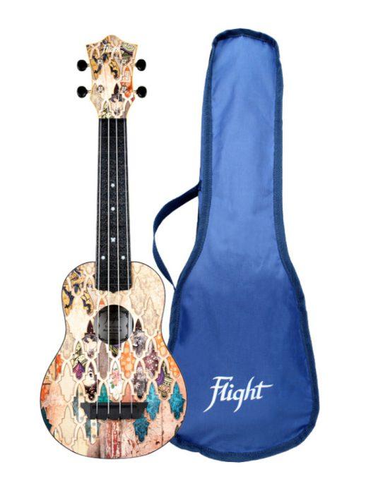 Flight TUS40 GRANADA ukulele sopranowe z serii TRAVEL