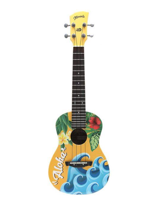Moana M-100 ALOHA ukulele koncertowe