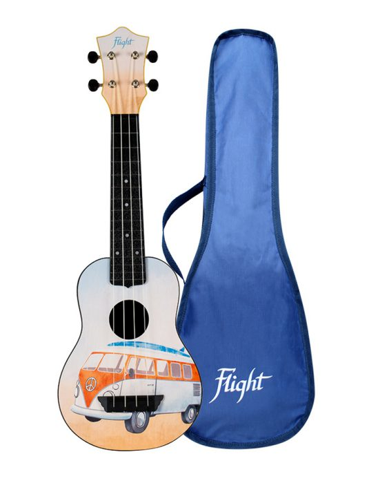Flight TUS25 BUS ukulele sopranowe z serii TRAVEL