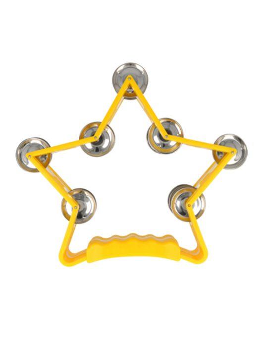 KUGO KGTG14 YL tamburyn ręczny (gwiazda)