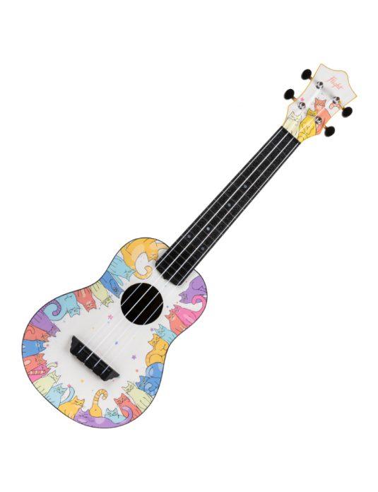 Flight TUC-KITTY ukulele koncertowe z serii TRAVEL