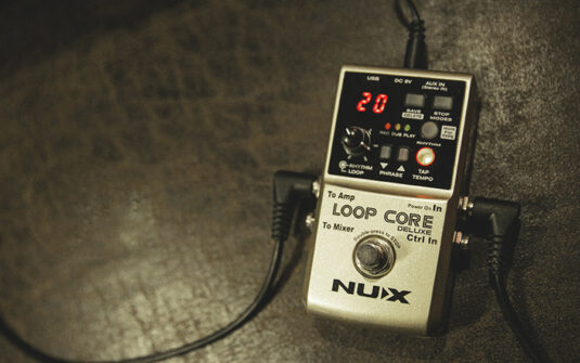 NUX LOOP CORE DELUXE BUNDLE efekt gitarowy - looper
