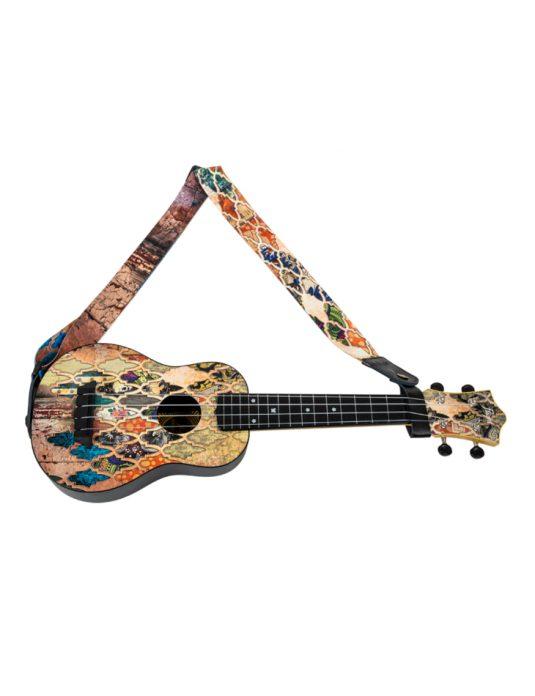 Flight S35 GRANADA pasek do ukulele