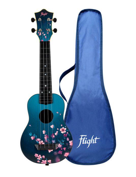 Flight TUS32 SAKURA ukulele sopranowe z serii TRAVEL