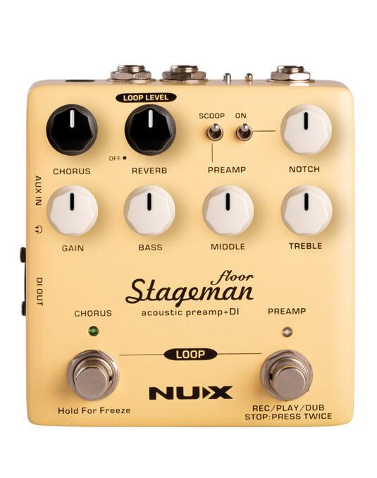 NUX NAP-5 STAGEMAN FLOOR preamp