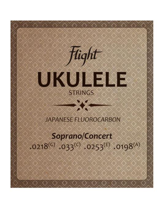 FLIGHT FUSSC100 struny do ukulele koncertowego / sopranowego