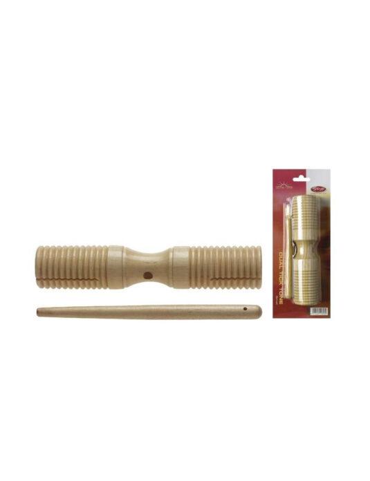 Stagg GDTB 125 S - dwutonowe guiro drewniane małe